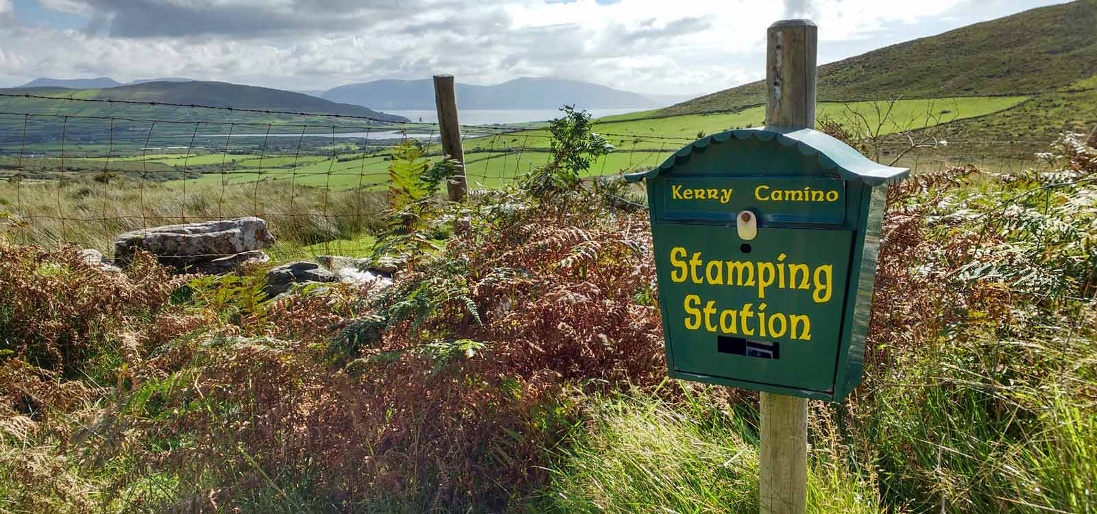 Kerry Camino stamping station